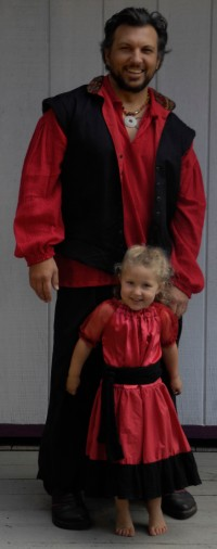 father daughter pirate