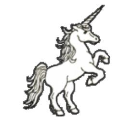 rearing unicorn